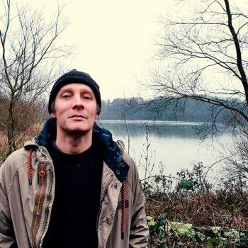 Me by a lake